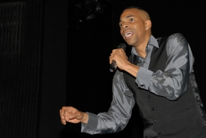 Slim - Performer on the night and Double WInner - Best Male Comedian and Funniest Comedy Moment 2011 @ TIemo Entertainments Black Comedy Awards 2011