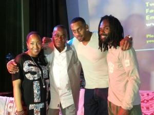 Angellica Bell, Daddy Ernie, Richard Blackwood and D22