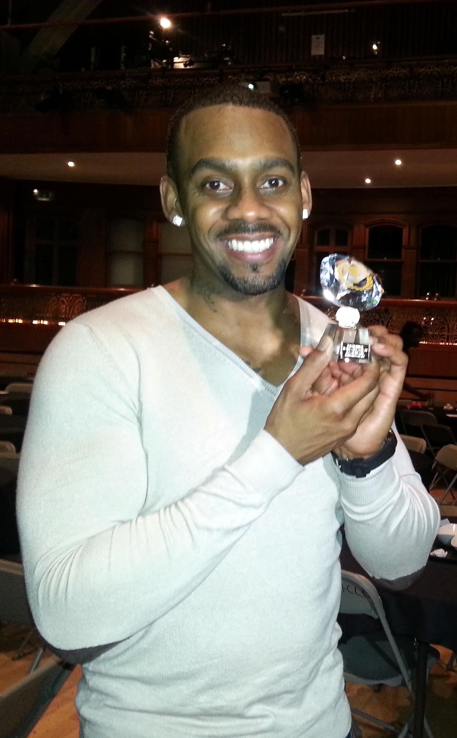 Richard Blackwood Best Comedian Acting Tiemo Black Comedy Awards 2012