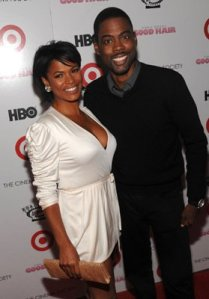 Nia Long and Chris Rock