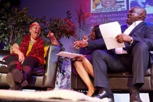 Aloun Ndombet-Assamba , Angie Greaves & Daddy Ernie