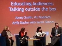 Sarah Simons, Jenny Smith, Arifa Nasim & Vic Goddard