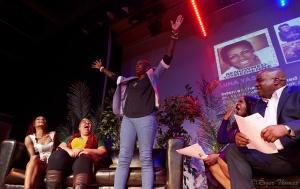 Aloun Ndombet-Assamba, Gina Yashere, Angie Greaves & Daddy Ernie