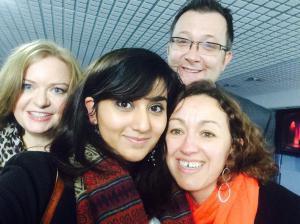 Sarah Simons, Arifa Nasim, Jenny Smith & Vic Goddard
