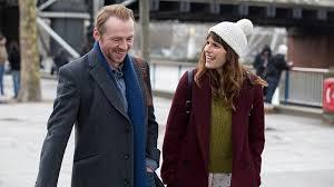 Simon Pegg (Jack) and Lake Bell (Nancy)