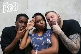 Tinchy Stryder, Miss London Hughes & Arron Crascall