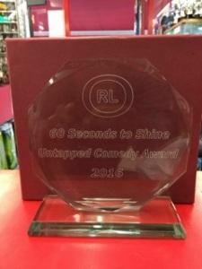 60SecsGlass Trophy2016