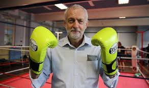 Jeremy Corbyn at Caris Boxing Gym